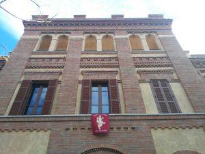 Casa Virgen del Pilar addobbo con il Bambinello