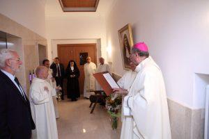 Benedizione di tutti gli ambienti della Casa Virgen del Pilar