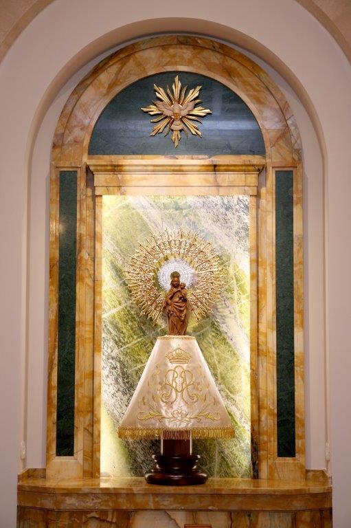 Virgen del Pilar Roma